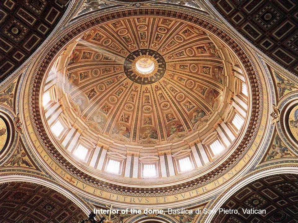 Dome of St Peter s 1564, Basilica di San Pietro, Vatican