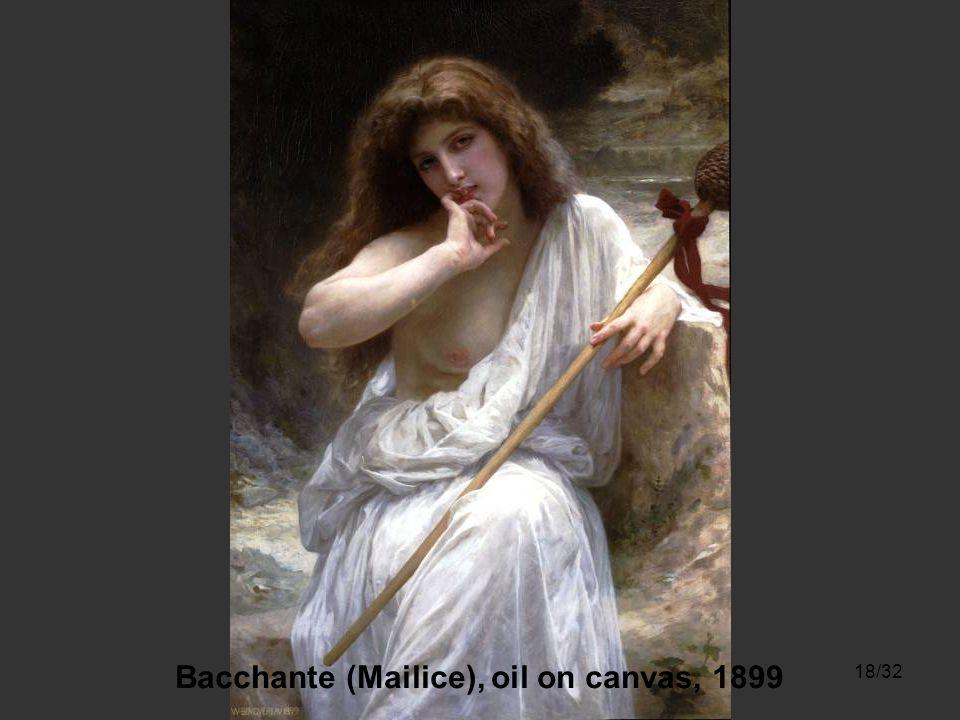 17/32 Jeune Fille Allant a la Fontaine, oil on canvas, 1885 A la Fontaine, oil on canvas, 1897