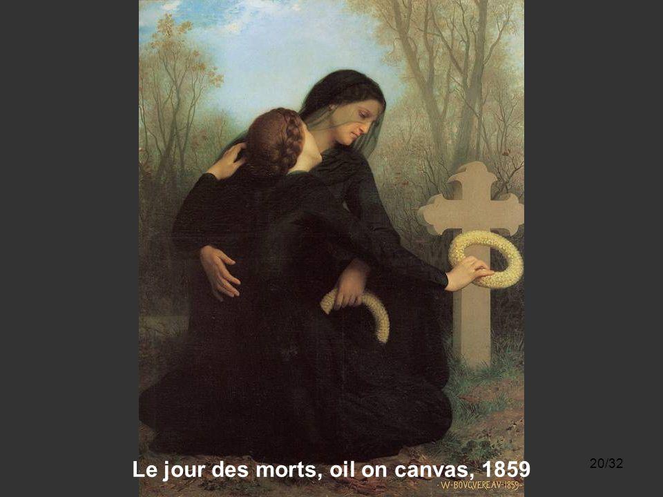 19/32 Les Remords d'Oreste, oil on canvas, 1862