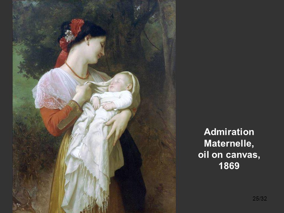 24/32 Le sommeil [Asleep at last], oil on canvas, 1864