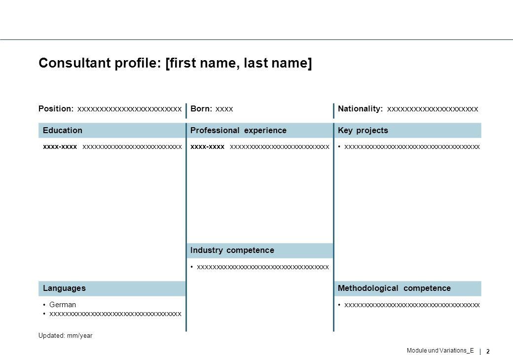 3 Module und Variations_E Organizational chart