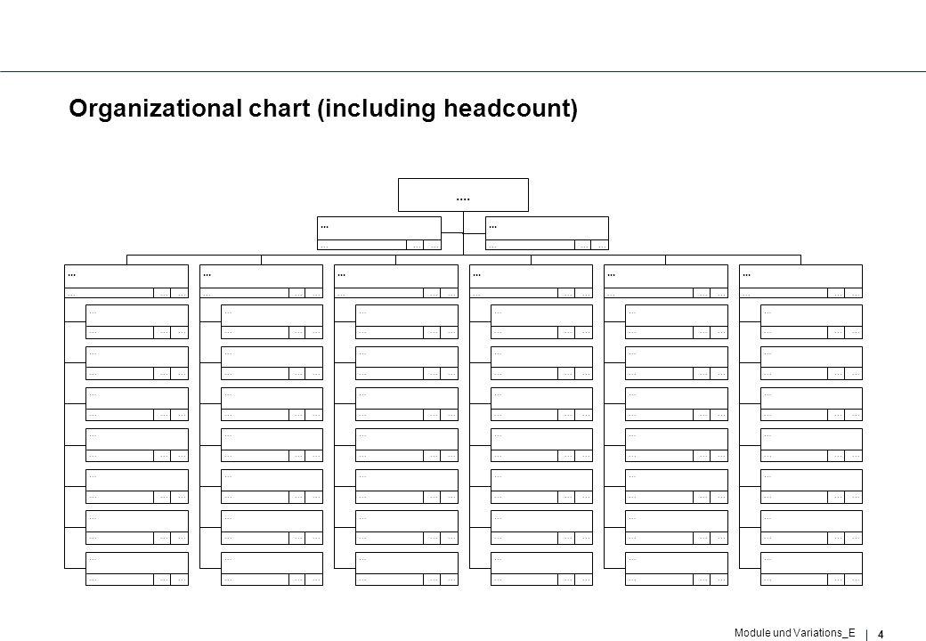4 Module und Variations_E Organizational chart (including headcount)