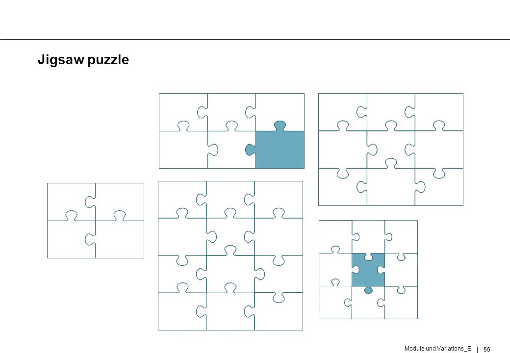 55 Module und Variations_E Jigsaw puzzle