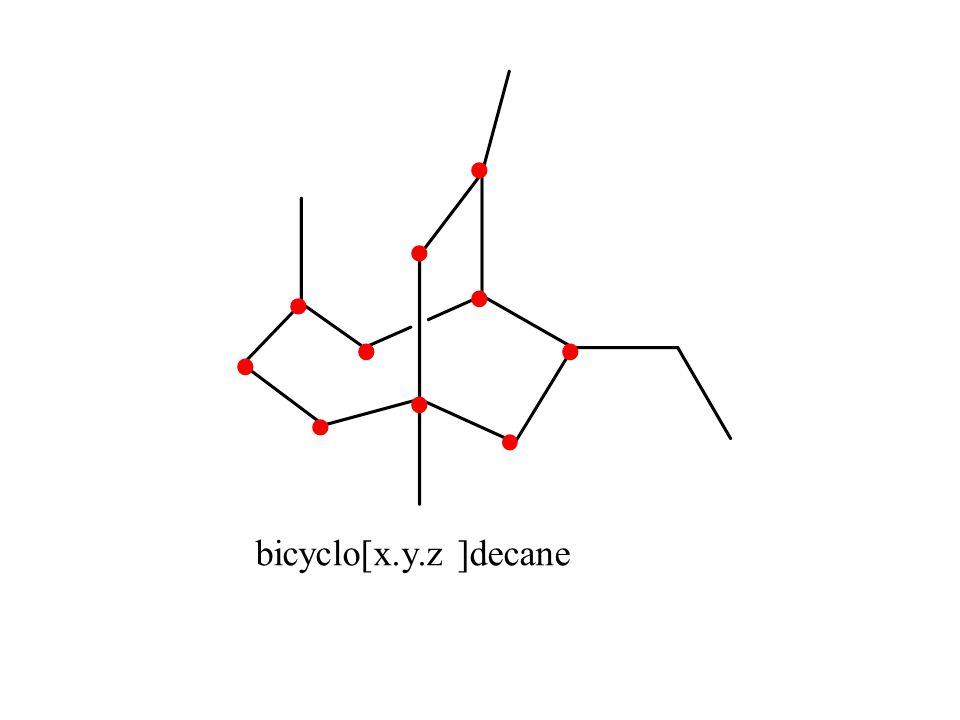 bicyclo[x.y.z ]decane