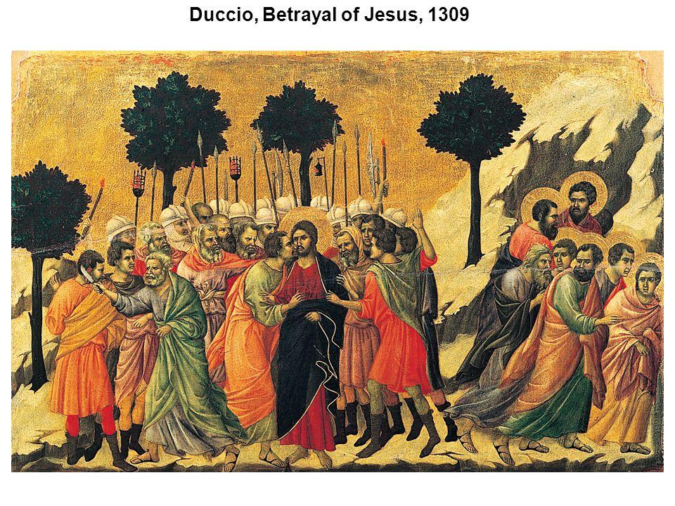 Duccio, Betrayal of Jesus, 1309