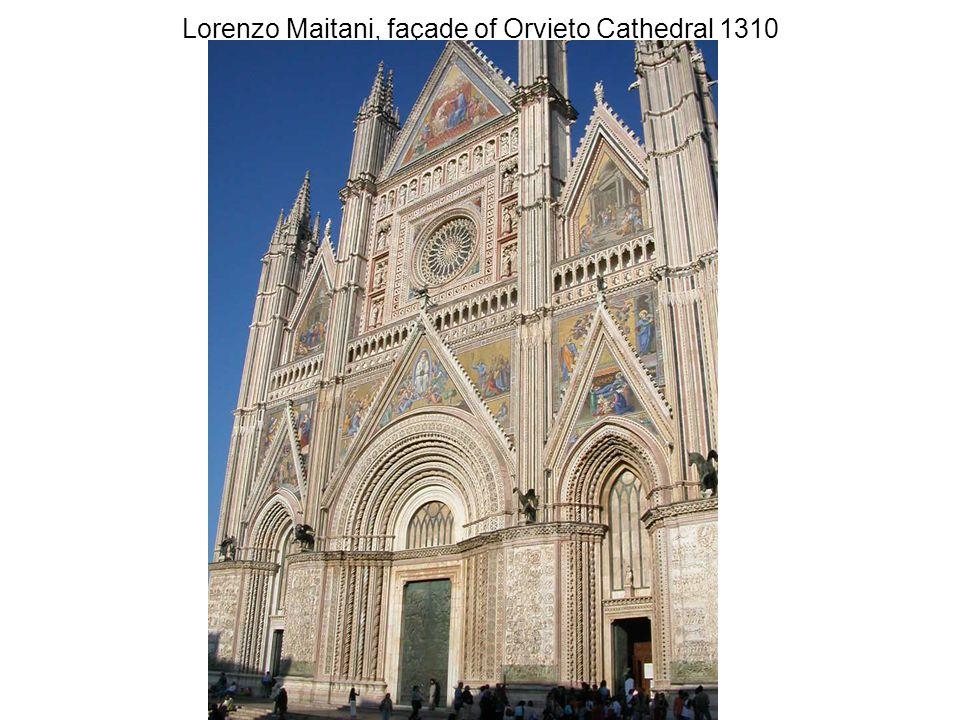 Lorenzo Maitani, façade of Orvieto Cathedral 1310