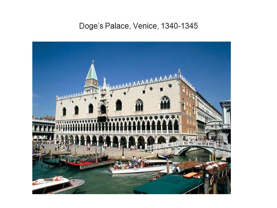 Doge's Palace, Venice, 1340-1345