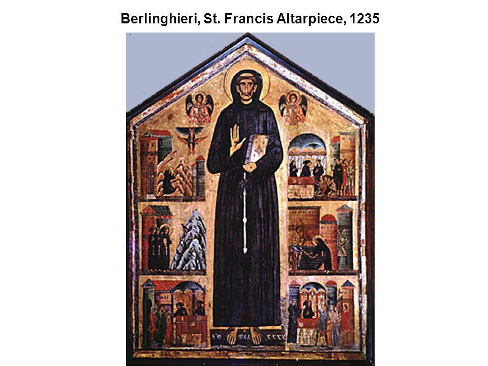 Berlinghieri, St. Francis Altarpiece, 1235