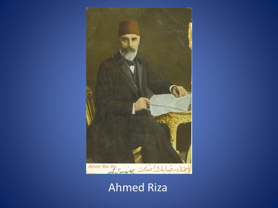 Ahmed Riza