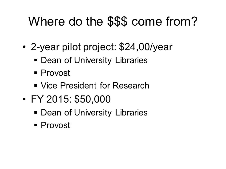 How is the OASF allocated.For authors that do not have any other source of funding.