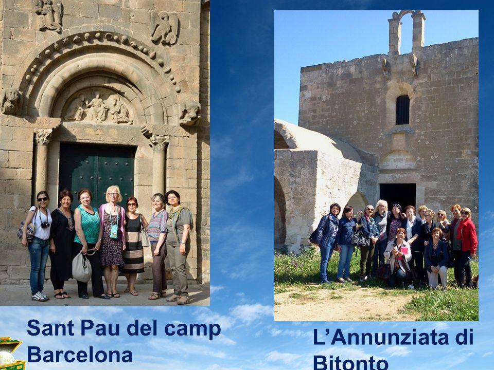 Sant Pau del camp Barcelona L'Annunziata di Bitonto