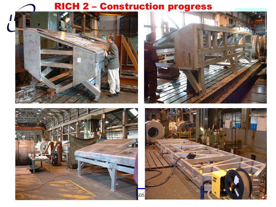 G.Martellotti, C.Matteuzzi, CSN1 Roma 6/4/2004 13 RICH 2 – Construction progress