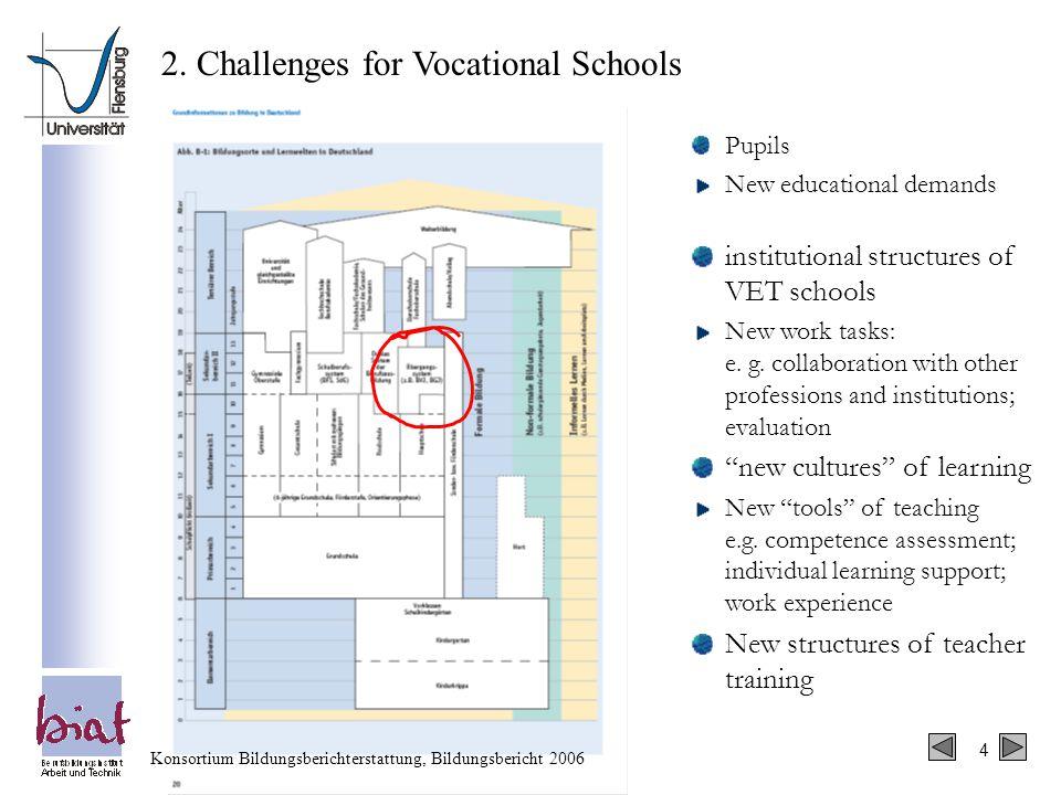 4 Konsortium Bildungsberichterstattung, Bildungsbericht 2006 2.