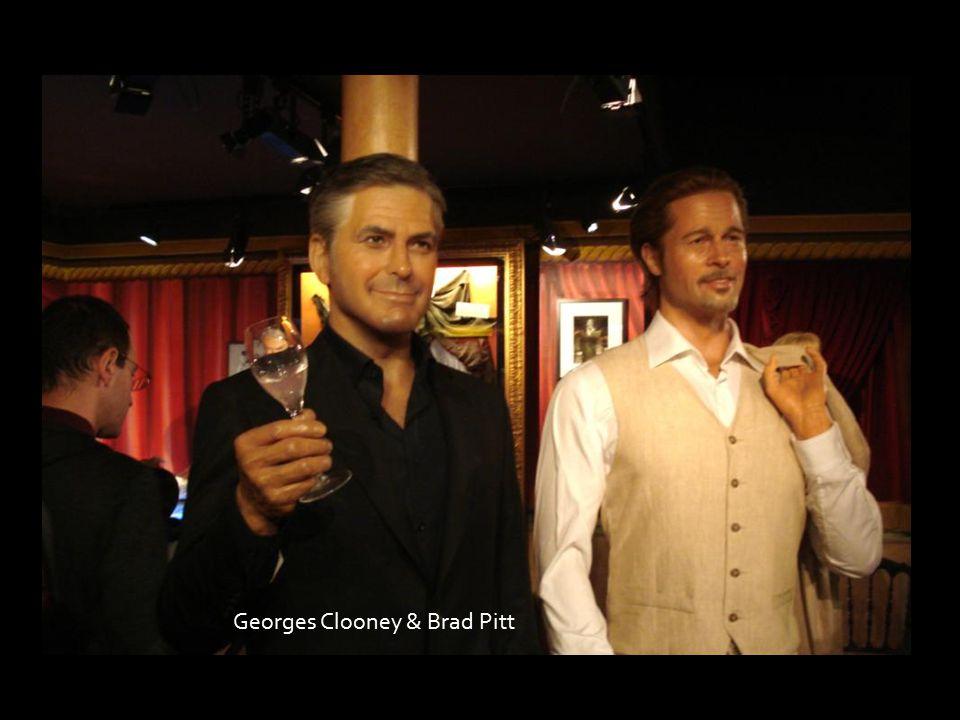 Georges Clooney & Brad Pitt