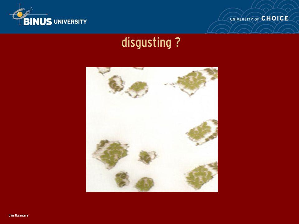 Bina Nusantara disgusting