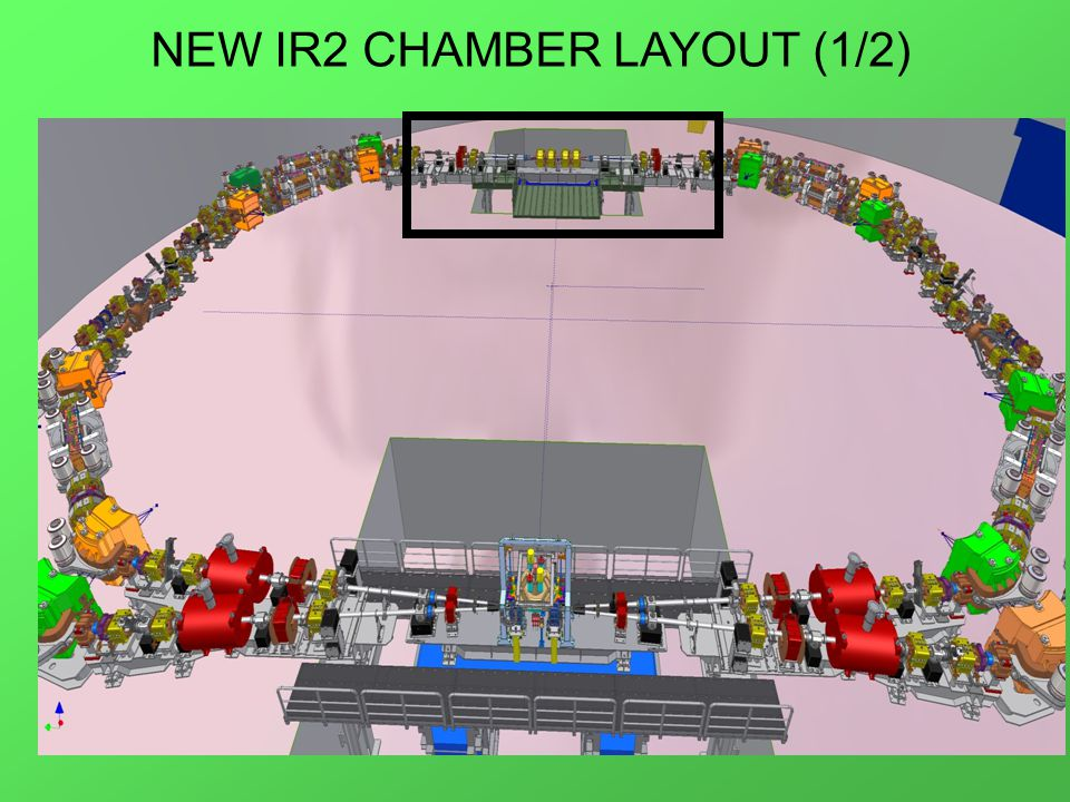 NEW IR2 CHAMBER LAYOUT (1/2)