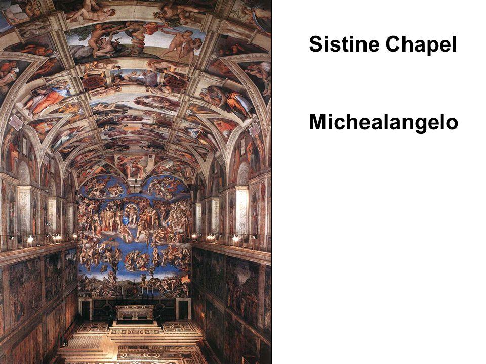 Sistine Chapel Michealangelo