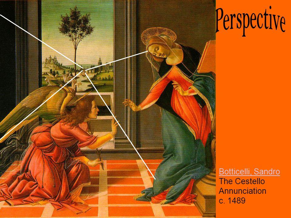 Botticelli, Sandro Botticelli, Sandro The Cestello Annunciation c. 1489