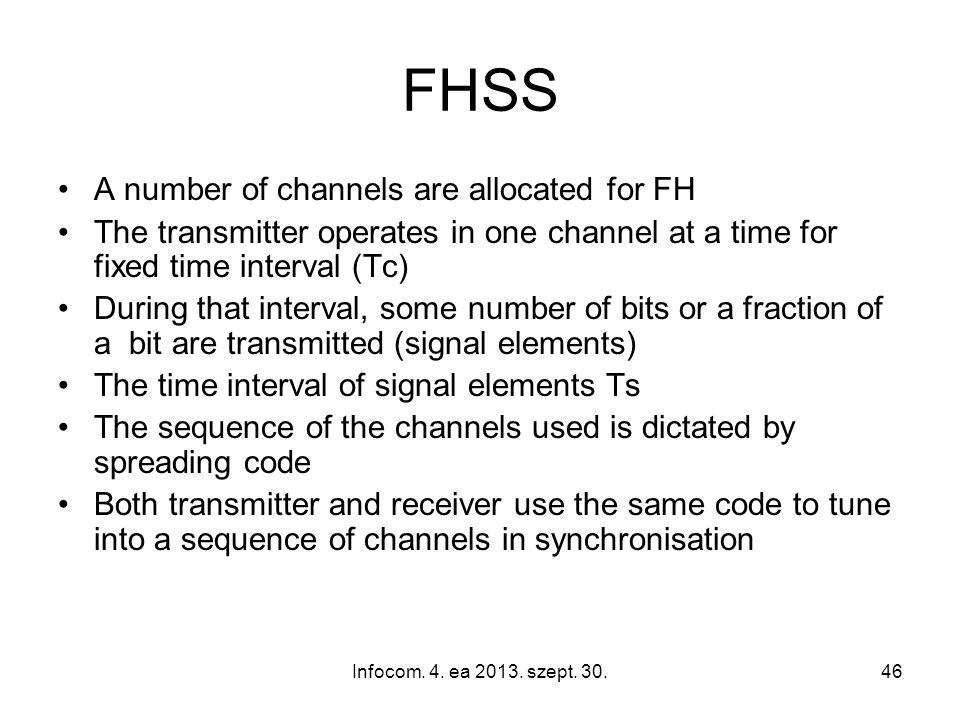 Infocom. 4. ea 2013. szept.