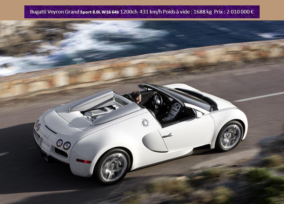 Alfa Romeo Pandion V8 4.7 de 450 ch. Prix 225 000 €