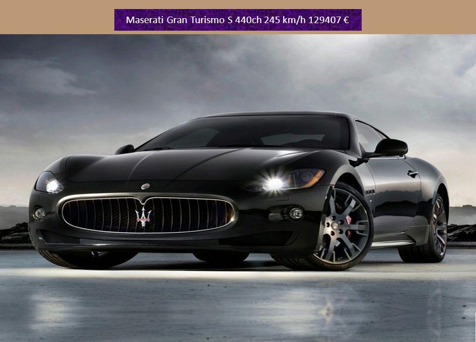 Maserati GranCabrio v8 année 2010 440ch 295 prix 134868 €