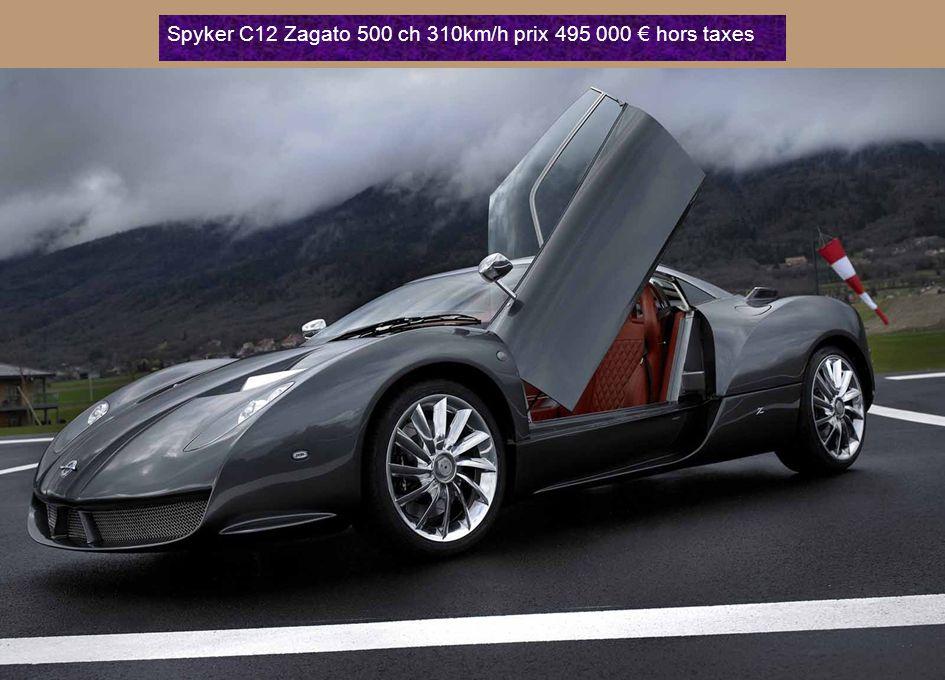 Ferrari 599GTB Fiorano Année : 2010 Puissance : 620ch - Vitesse : 330 km /h prix 2450875€