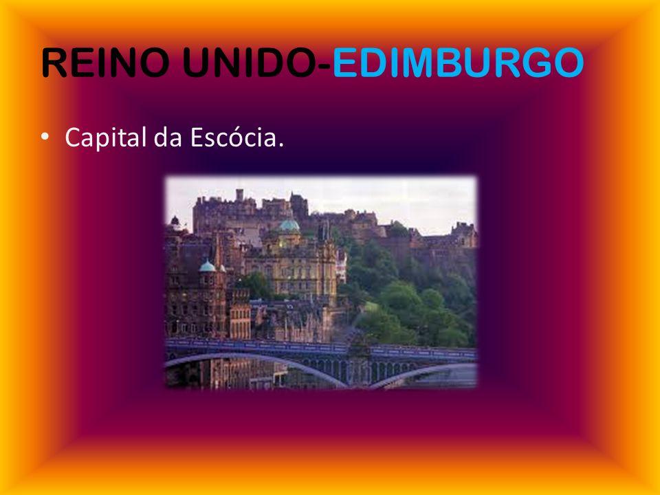 REINO UNIDO-EDIMBURGO Capital da Escócia.