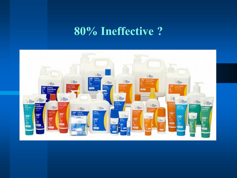 80% Ineffective
