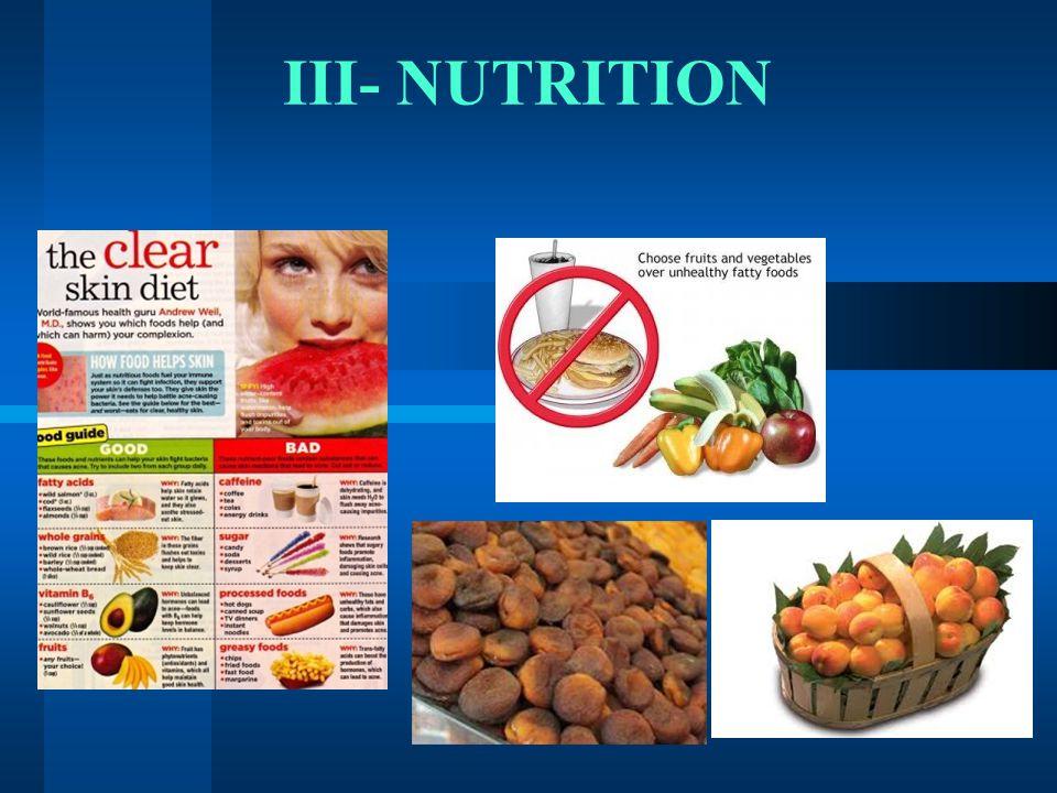 III- NUTRITION