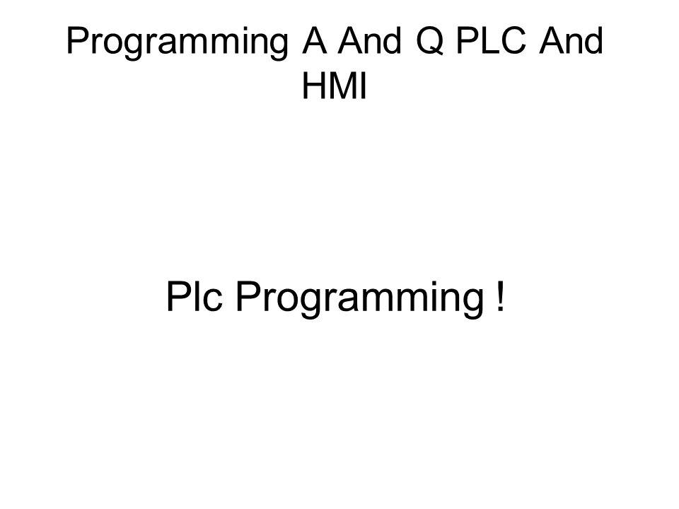 Plc Programming !