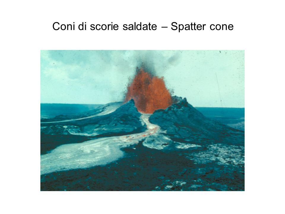Coni di scorie saldate – Spatter cone