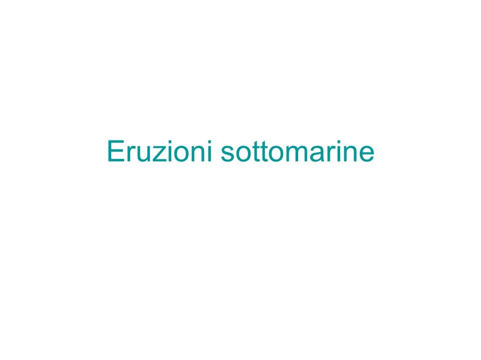 Eruzioni sottomarine
