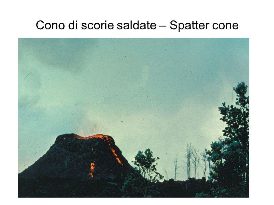 Cono di scorie saldate – Spatter cone