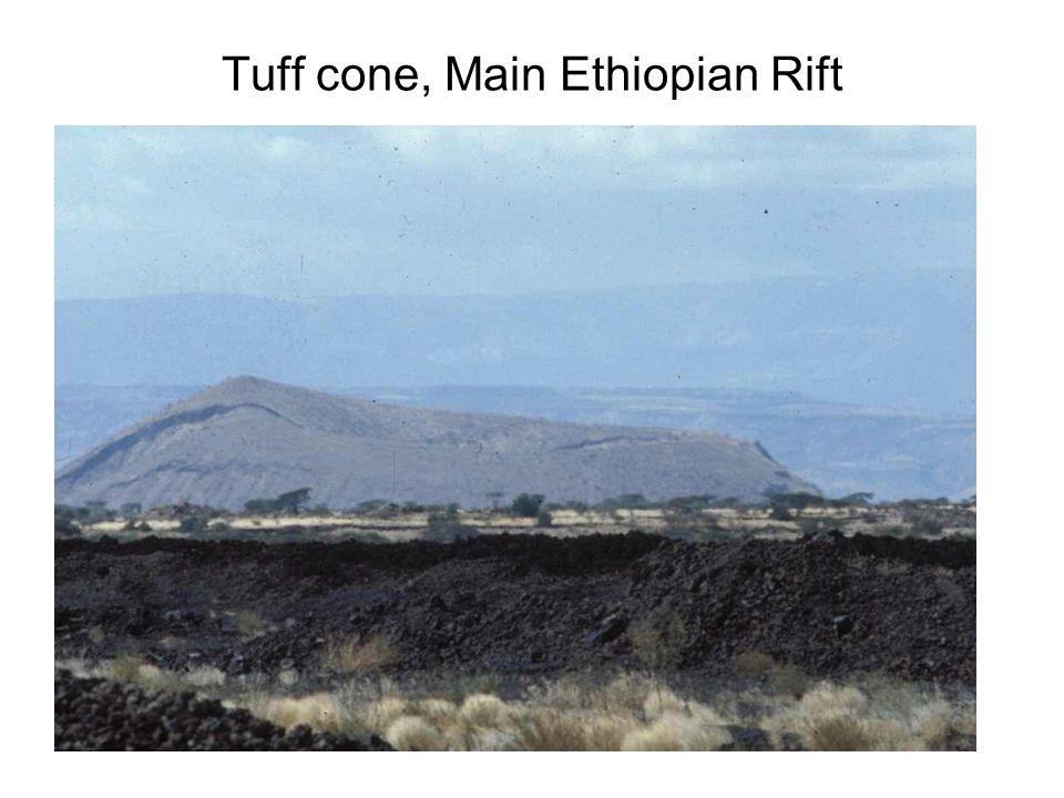Tuff cone, Main Ethiopian Rift
