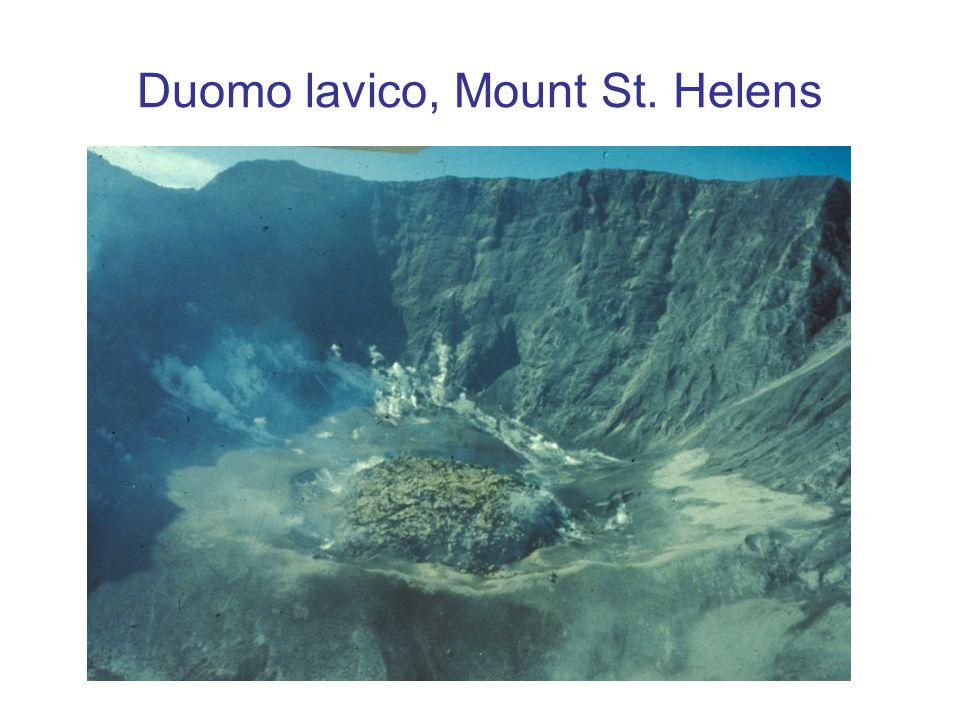 Duomo lavico, Mount St. Helens
