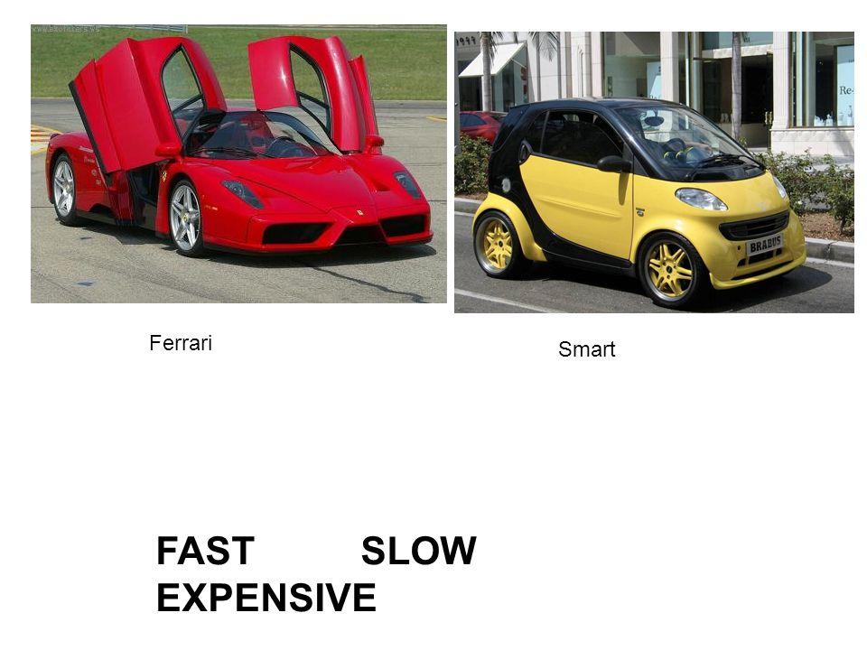 Ferrari Smart FAST SLOW EXPENSIVE