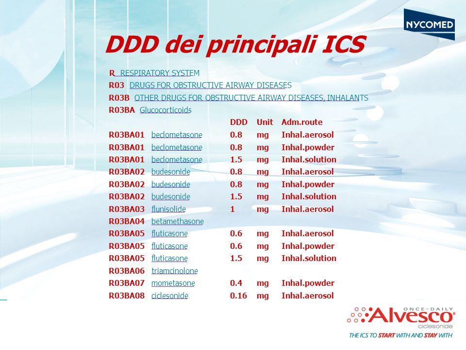 DDD dei principali ICS
