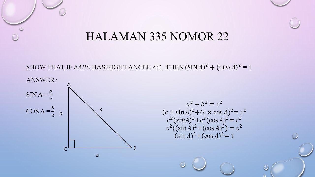 HALAMAN 335 NOMOR 22 A B C b a c