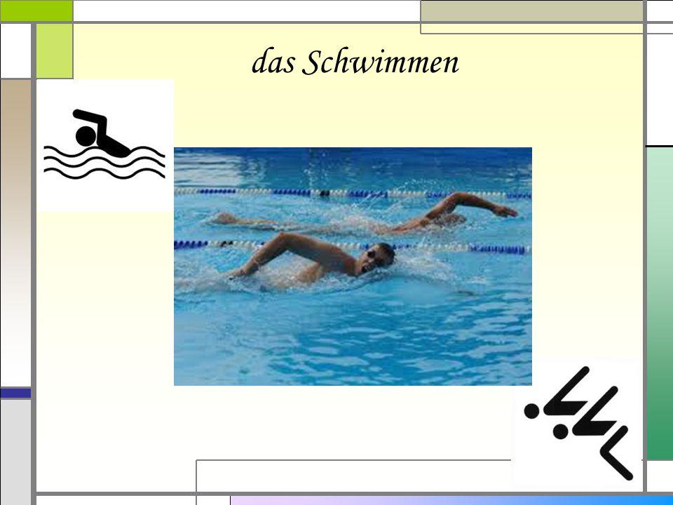 das Schwimmen