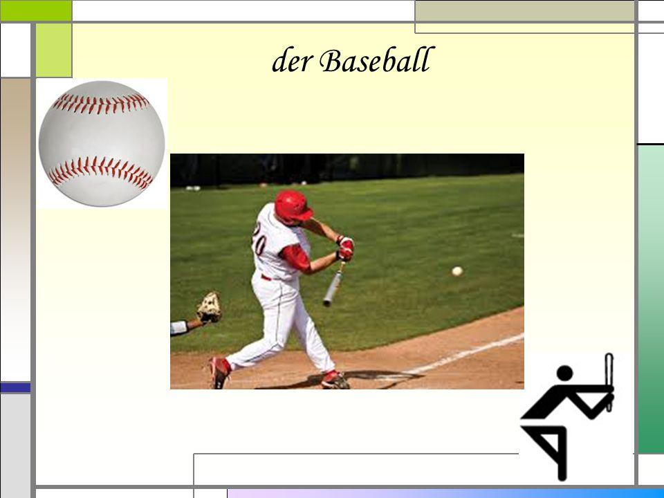 der Baseball