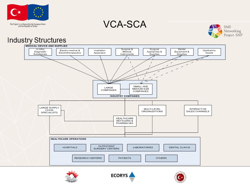 VCA-SCA Industry Structures