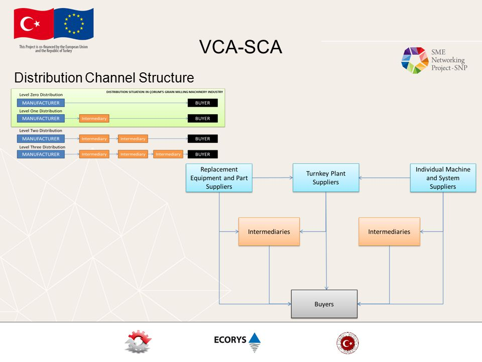 VCA-SCA Distribution Channel Structure