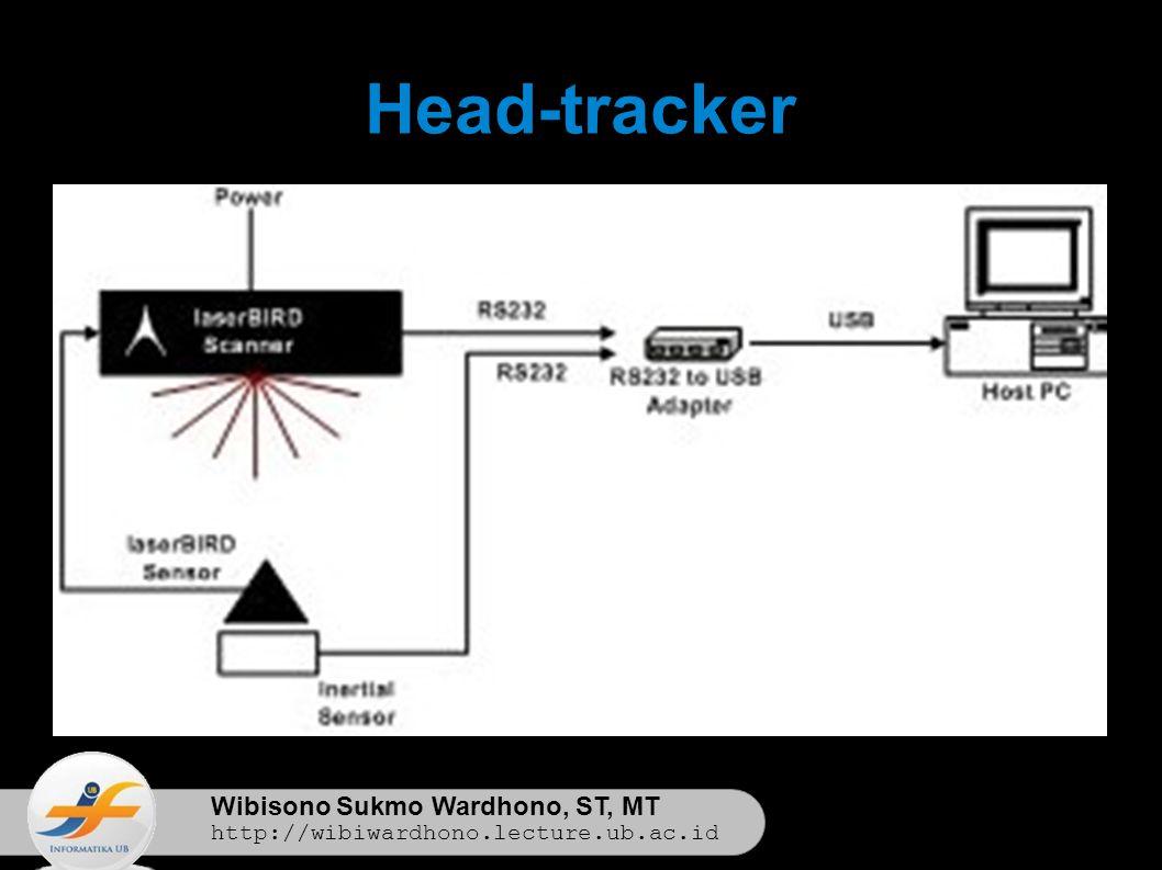 Wibisono Sukmo Wardhono, ST, MT http://wibiwardhono.lecture.ub.ac.id Motion-tracker