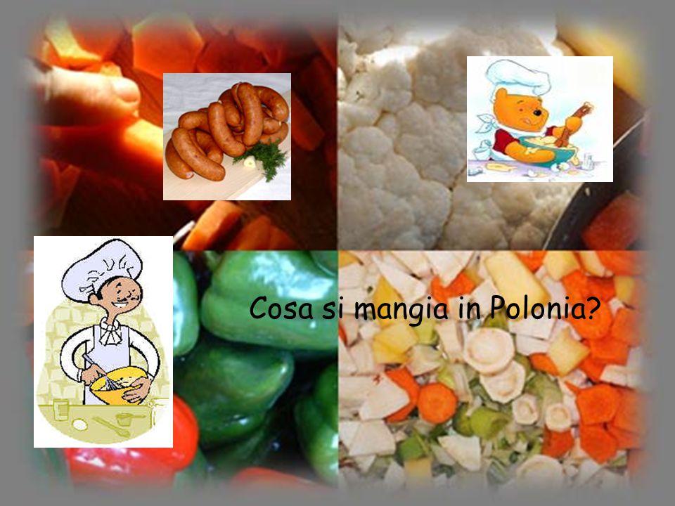 Cosa si mangia in Polonia