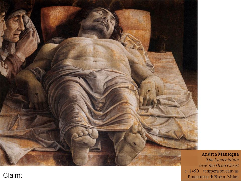 Andrea Mantegna The Lamentation over the Dead Christ c.