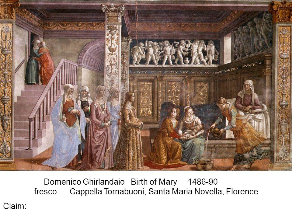 Ambrogio Lorenzetti Allegory of the Good Government 1338-40 Palazzo Pubblico, Siena fresco Claim: