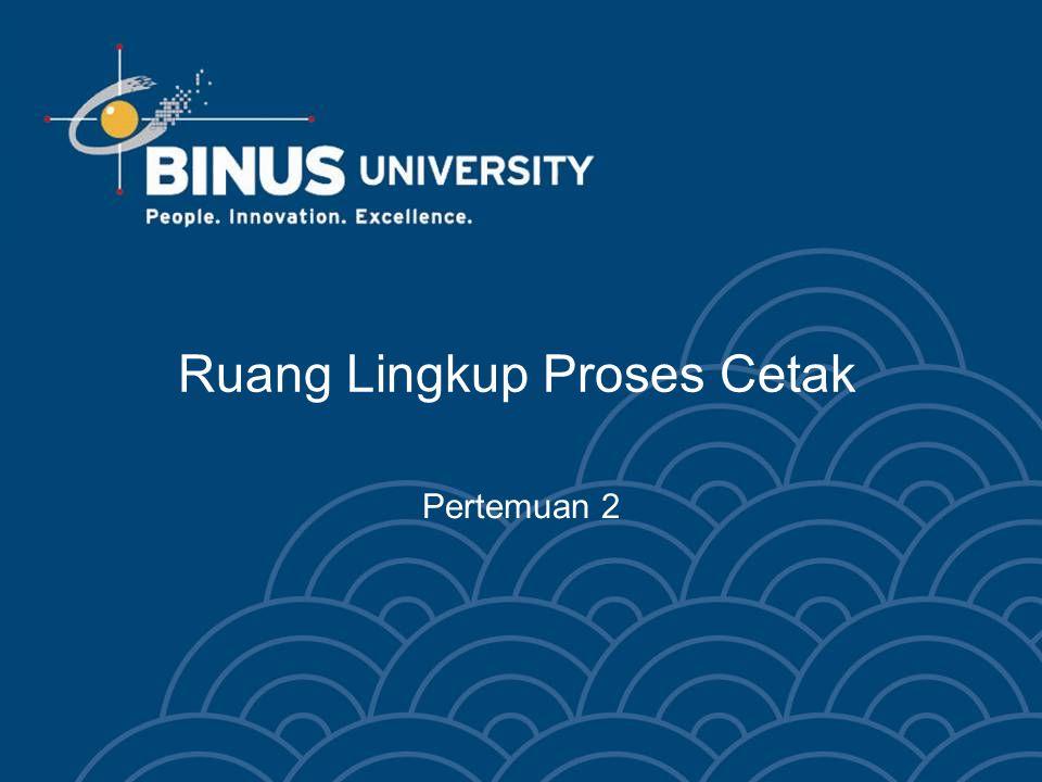 Bina Nusantara University 13 Linocut