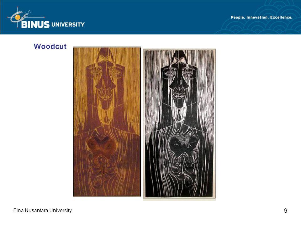Bina Nusantara University 9 Woodcut
