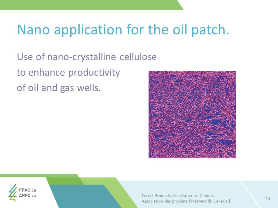 Nano application for the oil patch.
