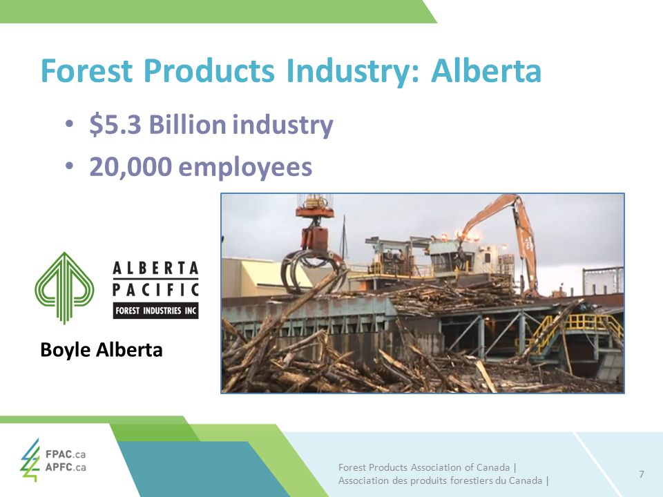 Alberta Forest Sector Averaged 7.65 percent growth since 2010